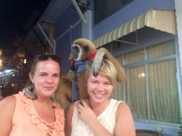 First monkey for my trip