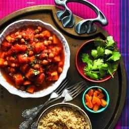 Moroccan Veggie Stew