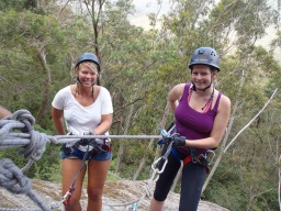 Abseiling & canyoning in the Blue Mountains